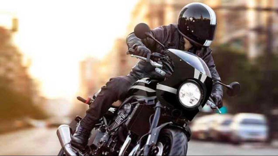 Kawasaki Z 900 RS 2022 Farben