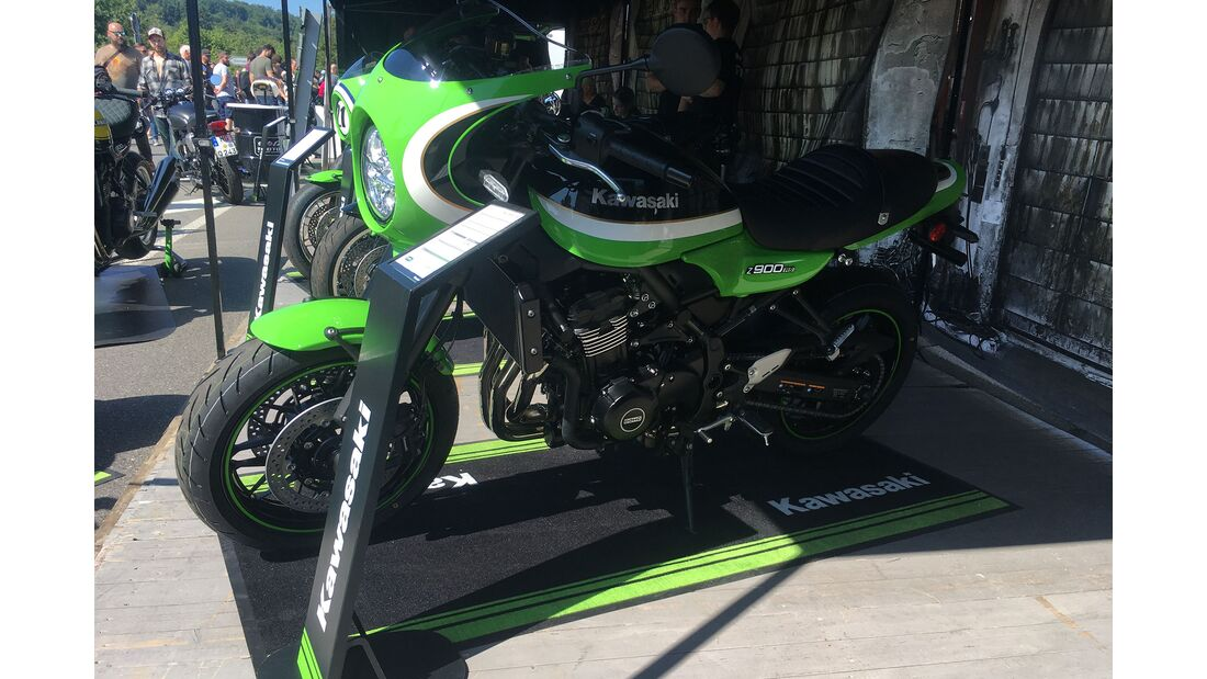 Kawasaki Z 900 RS Cafe neue Farben 2020 Glemseck 101
