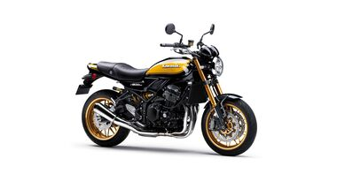 Kawasaki Z 900 RS SE Yellow-Ball