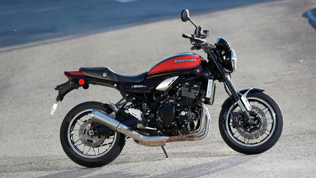 Kawasaki Z 900 RS beliebteste Kawasaki-Modelle von 2010 bis 2019