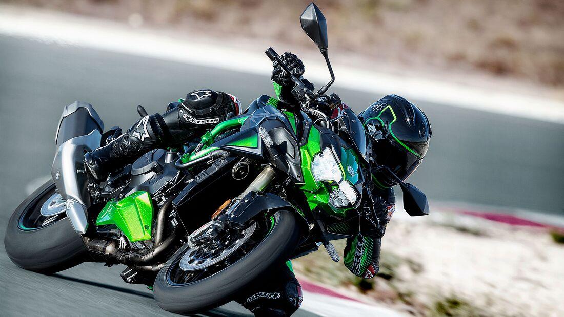 Kawasaki Z H2 SE Modelljahr 2021 Sperrfrist