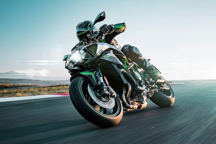 Kawasaki Z H2: Kompressor-Naked-Bike mit 200 PS