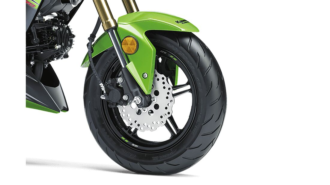 Kawasaki Z125 Pro USA