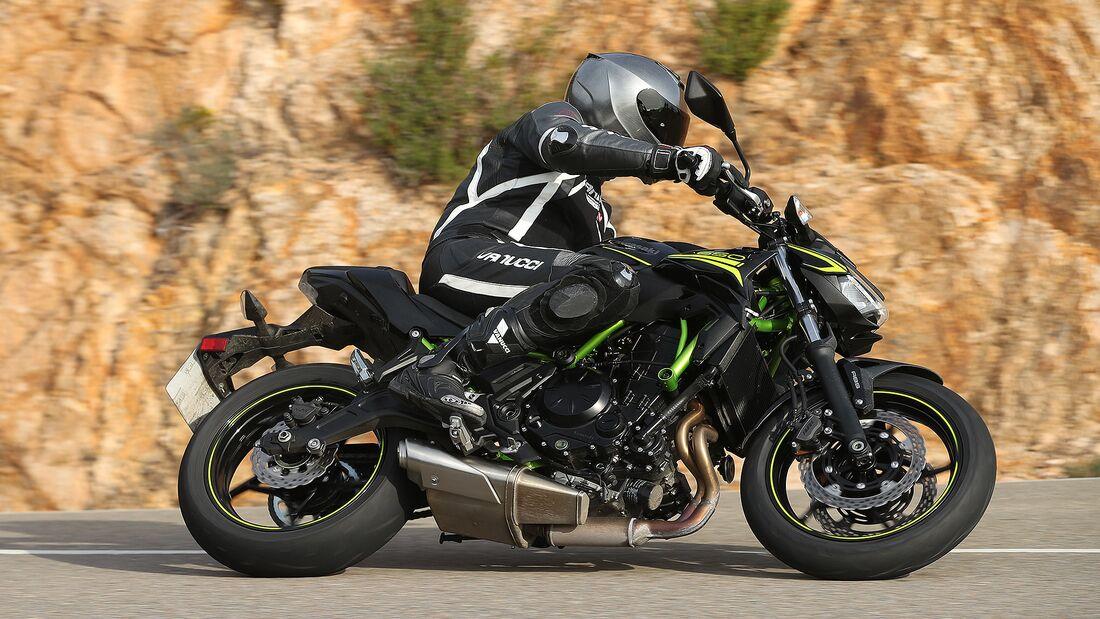Kawasaki Z650 Fahrbericht