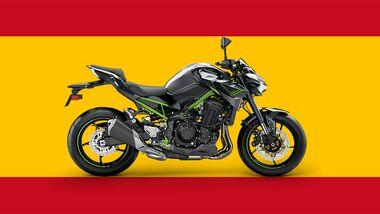 Kawasaki Z900 Spanien