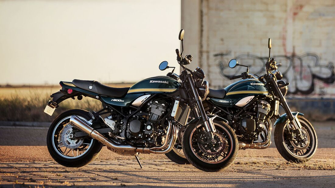 Kawasaki Z900RS Modelljahr 2022