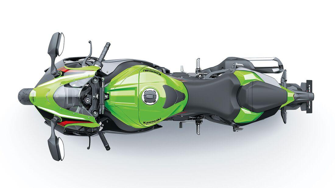 Kawasaki ZX-10 RR Modelljahr 2021 Sperrfrist