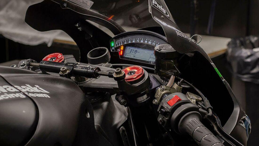 Kawasaki ZX-10R Jonathan Rea Wintertest