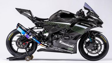 Kawasaki ZX-25R Rennversion
