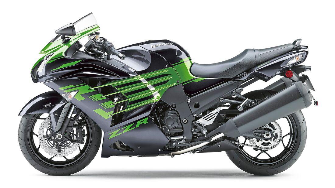 Kawasaki ZZR 1400.