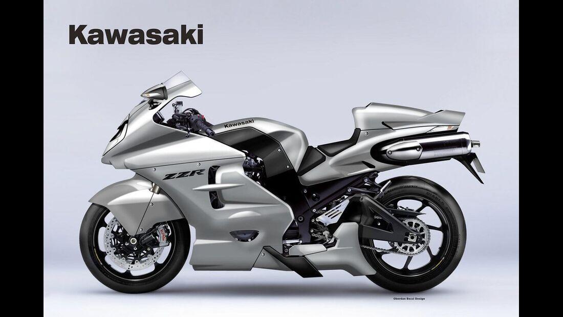 Kawasaki ZZR 1600 Unlimited.