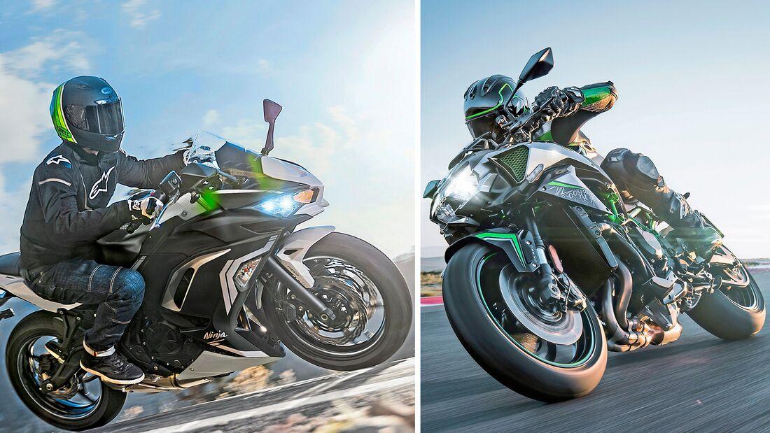 Kawasaki im Modelljahr 2020.