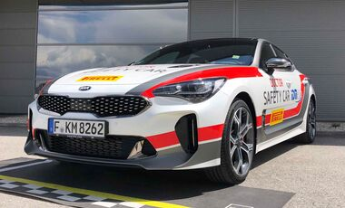 Kia Stinger Safety-Car IMD 2019