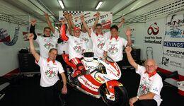 Kiefer Racing und Stefan Bradl 2011 WM-Titel Valencia