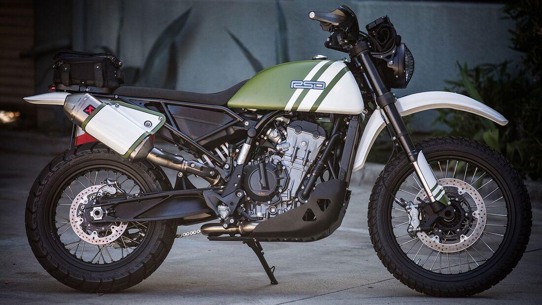 Klassik-Umbau  KTM 790 Adventure Roland Sands