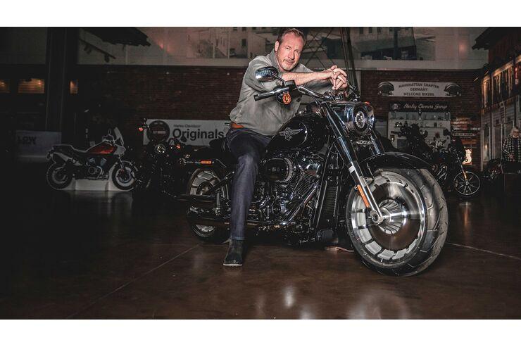 Harley-Deutschlandchef Kolja Rebstock im Interview