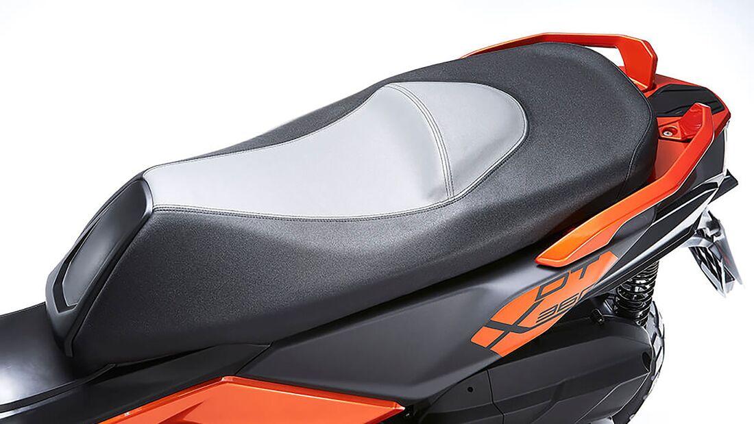 KYMCO DT X360 2021, el scooter adventure crossover