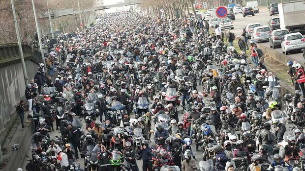 Lane Splitting Frankreich 2021