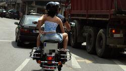 Leichte Kleidung Motorrad