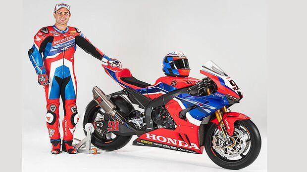 Leon Haslam Honda