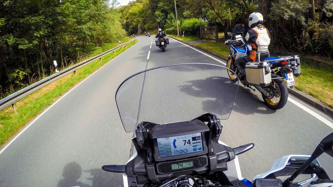 Leser Test Ride Honda Africa Twin 2020