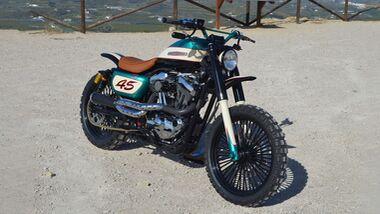 Lord Drake Kustoms Harley-Davidson SOULBREAKER Sportster Scrambler