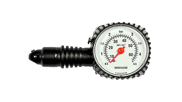 Luftdruckprüfer Motometer Plastik