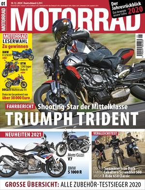 MOTORRAD 01/2021 Titel