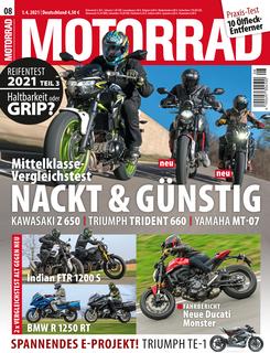 MOTORRAD 08/2021 Titel