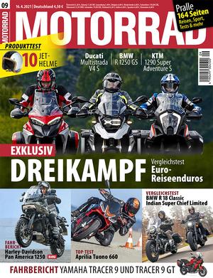 MOTORRAD 09/2021 Titel