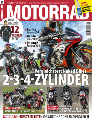 MOTORRAD 10/2021 Titel
