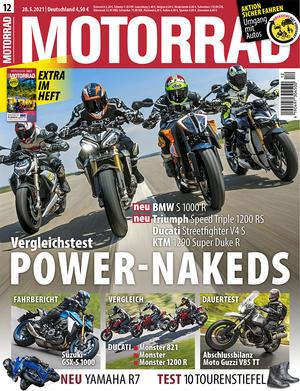 MOTORRAD 12/2021 Titel