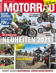 MOTORRAD 15/2020 - Titel.