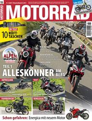 MOTORRAD 15/2021 Titel