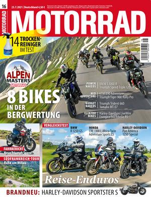 MOTORRAD 16/2021 Titel