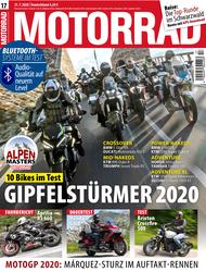 MOTORRAD 17/2020 Titel