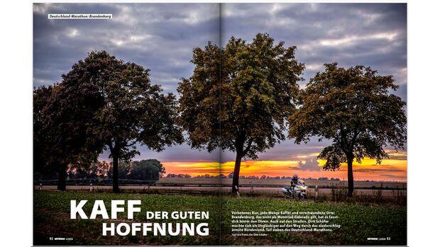 MOTORRAD Deutschland-Marathon Brandenburg