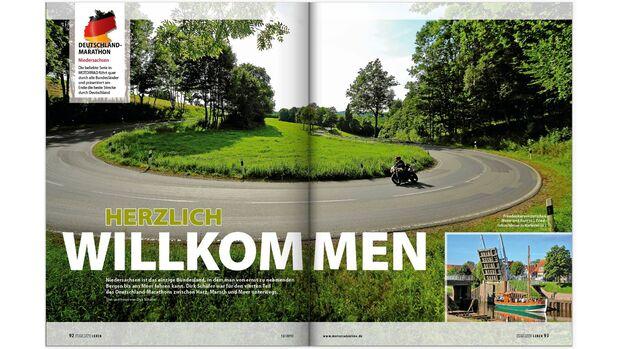 MOTORRAD Deutschland-Marathon Niedersachsen