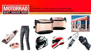 MOTORRAD Leserwahl 2020 Best Brands Teil 1 Teaser