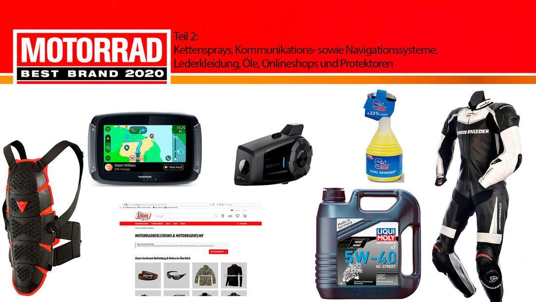 MOTORRAD Leserwahl 2020 Best Brands Teil 2 Teaser