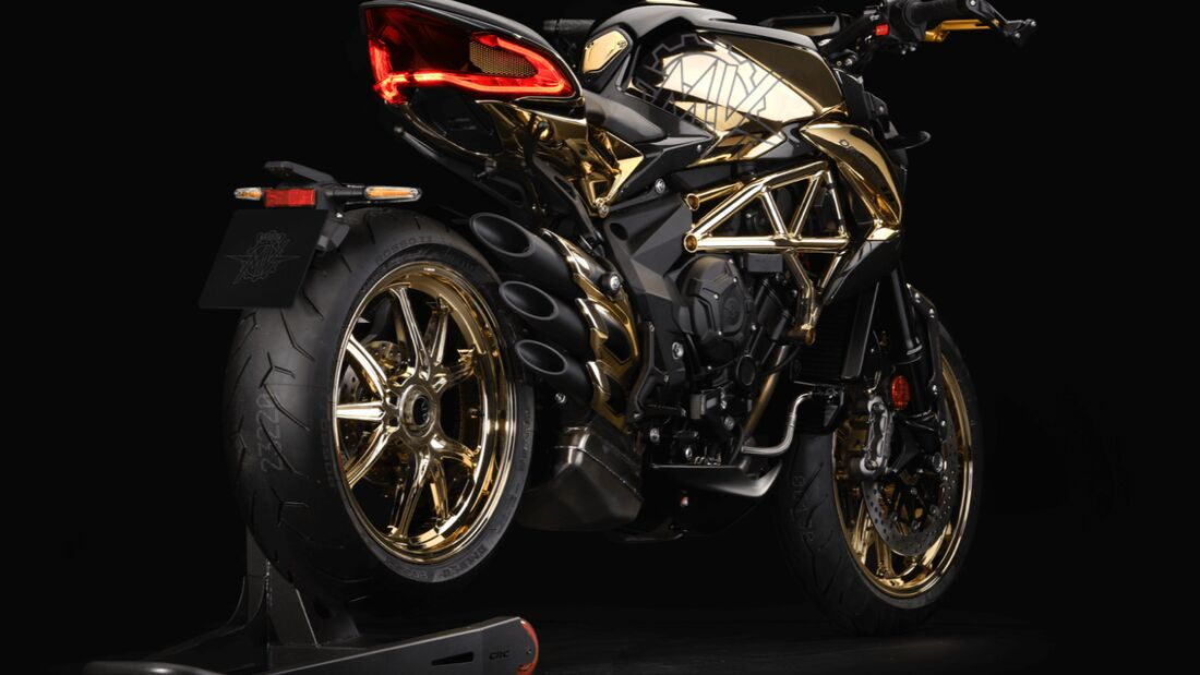 "MV Agusta Dragster 800 RC ""Shining Gold"""
