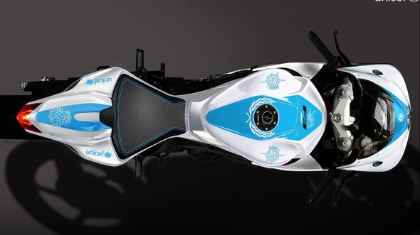 MV Agusta F3 800 UNICEF-Sondermodell.
