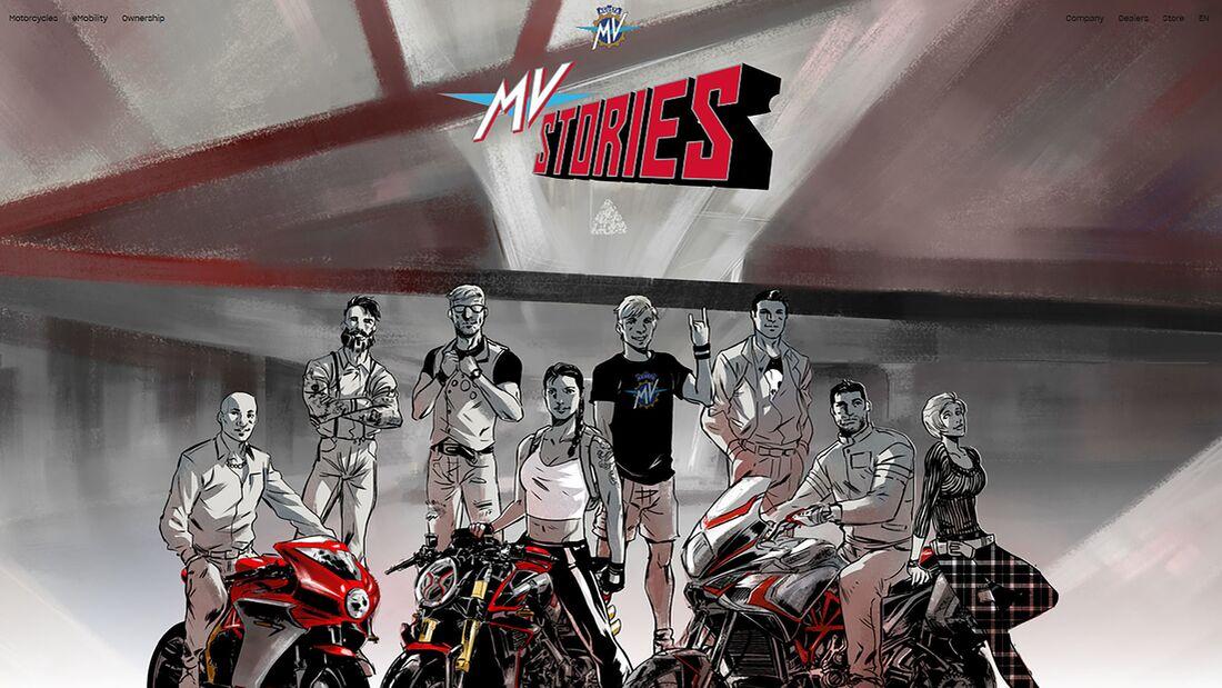 MV Agusta Stories Comic