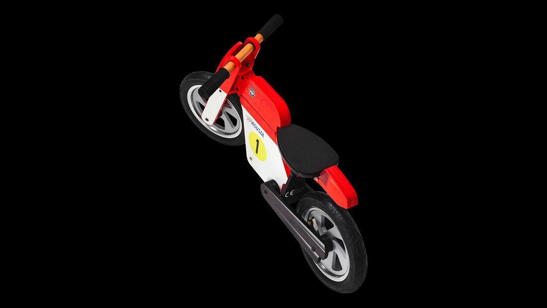 MV Agusta aus Holz Kinderlaufrad