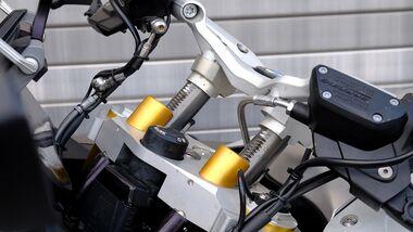 MV Motorrad Technik verstellbare Rasten Lenker Vario