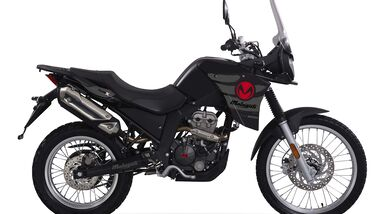 Malaguti Dune X 125 Black Edition.