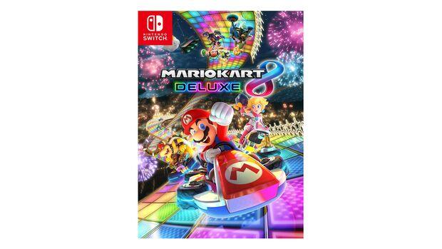Mario Kart 8 Deluxe.