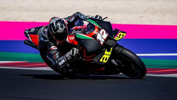 Maverick Vinales Aprilia RS-GP