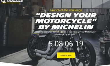 Michelin Design you Motorcycle Website