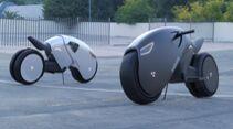 Mimic Elektro-Superbike Rendering Konzept von Roman Dolzhenko 2020